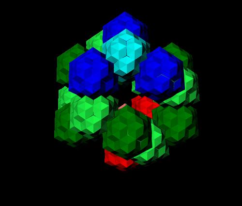 macro-molécule de niveau 1